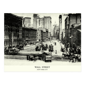 1900 Wall Street Post Card