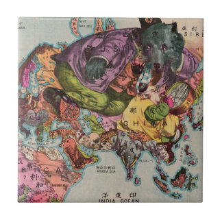 1900 World View Map Tile