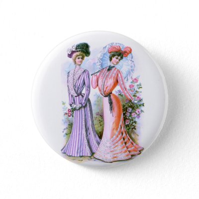 Retro Fashion Button on The Delineator  August 1901  Page 165  1900s Vintage Fashion Dresses