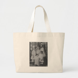 1900's Mother and Three Daughters Jumbo Tote Bag