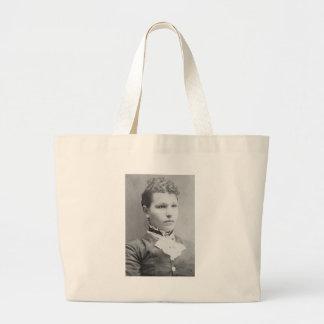 1900's Portrait of Woman Jumbo Tote Bag