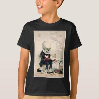 1900s skull, skeleton pharmaceutical ad T-Shirt