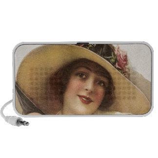 1900's Vintage Victorian Woman Speaker System
