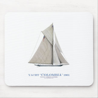 1901 Colombia Mouse Mat