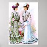 1901 Vintage Dresses Print