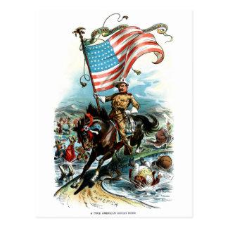 1902 Theodore Roosevelt Postcard