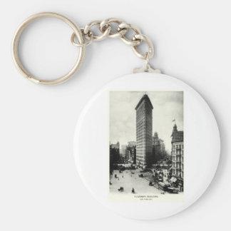 1903 Flatiron District, New York City Basic Round Button Key Ring
