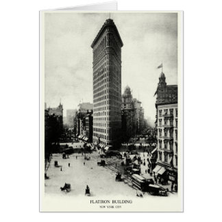1903 Flatiron District, New York City Greeting Cards