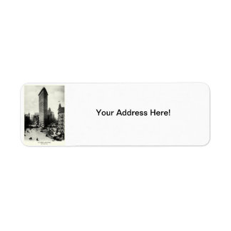 1903 Flatiron District, New York City Return Address Label
