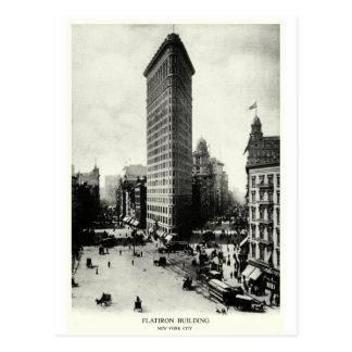 1903 Flatiron District, New York City Postcard