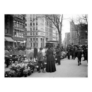 1904 Easter Fowers NYC Postcard