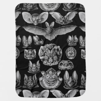 1904 Haeckel Chiroptera Baby Blanket