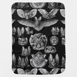 1904 Haeckel Chiroptera Receiving Blankets