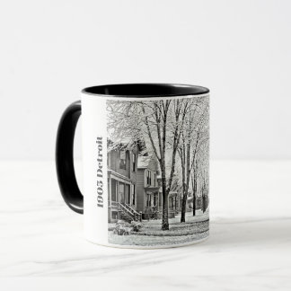1905 Detroit in Winter Mug
