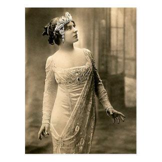 1905 Evening Gown Postcard