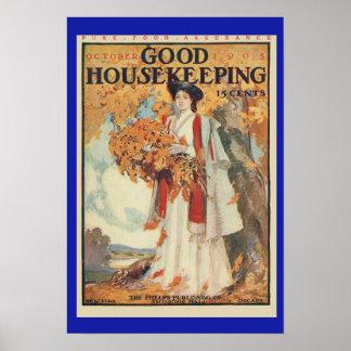1905 Good Housekeeping Vintage Print