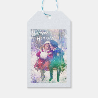 1905 Happy Holiday Gift Tags