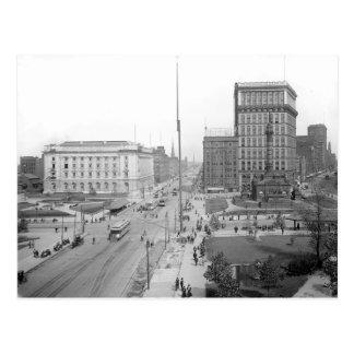1906 Public Square Cleveland Ohio Postcard