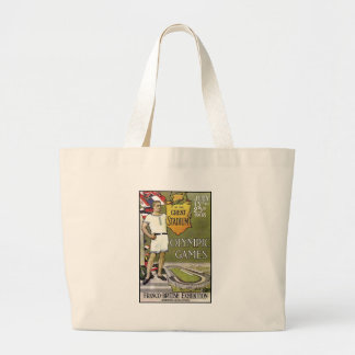 1908-London-Summer-Olympic-Games-Poster Canvas Bag