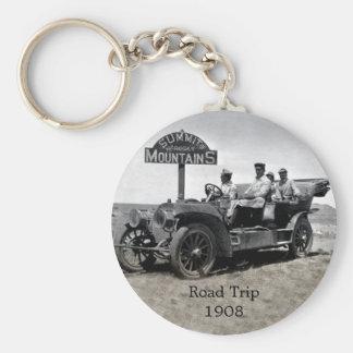 1908 Road Trip Key Chain