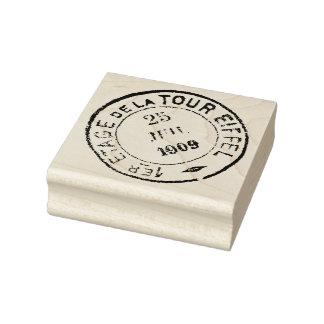 1909 Eiffel Tower Postmark Rubber Art Stamp