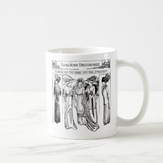 1910 Bride and Attendants Gowns Mug