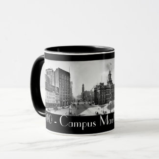 1910 - Campus Martius Detroit in panoramic. Mug