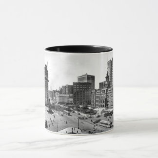 1910 Campus Martius in Detroit Mug
