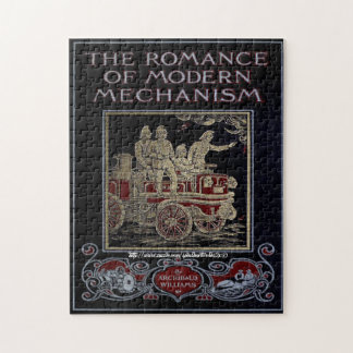 """1910 Fire Fighting Puzzle"" Jigsaw Puzzle"