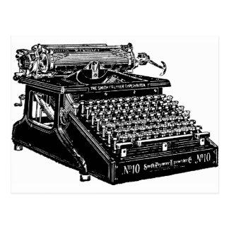 1910 Typewriter Postcard