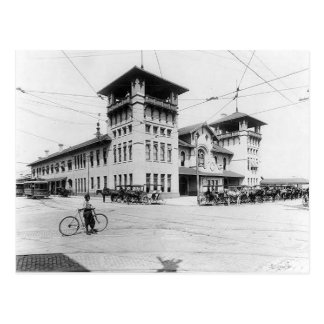 1910 Union Station Charleston SC Postcard