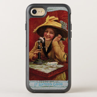 1910s Beauty on a Candlestick Phone Otterbox OtterBox Symmetry iPhone 7 Case
