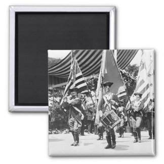 1911 4th of July NYC Fridge Magnet