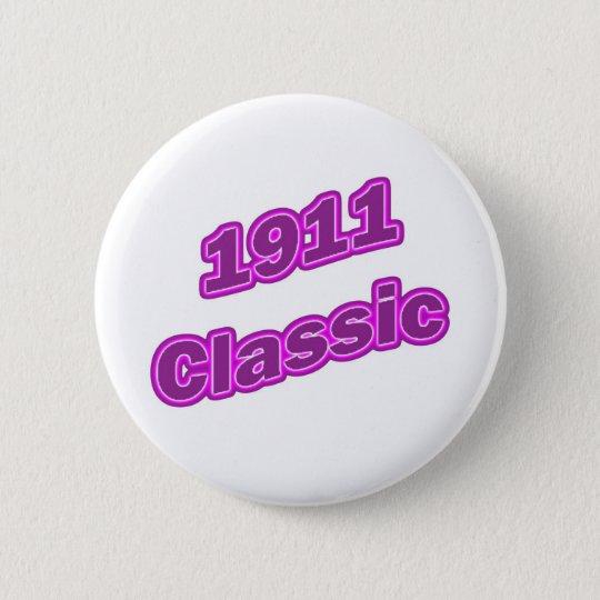 1911 Classic Purple 6 Cm Round Badge