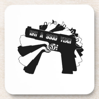 1911 Firearm A Good Year png Drink Coasters