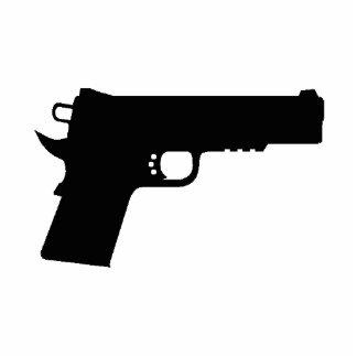 1911 Pistol Keychain Photo Cutouts