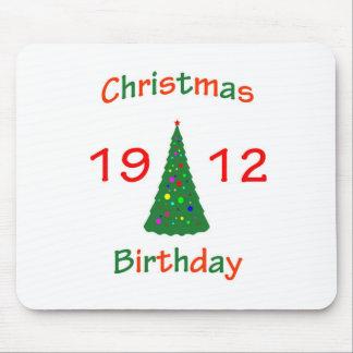 1912 Christmas Birthday Mouse Pads