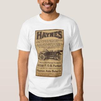 1912 Haynes vintage auto advertisement Tshirts