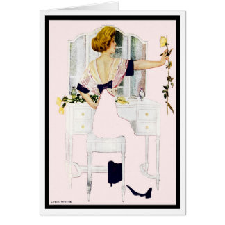 1912 ROMANCE ROSES FADE-AWAY COLES PHILLIPS CARD
