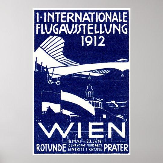 1912 Vienna Air Show Poster