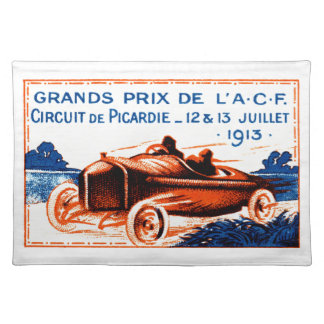 1913 Grand Prix Placemats
