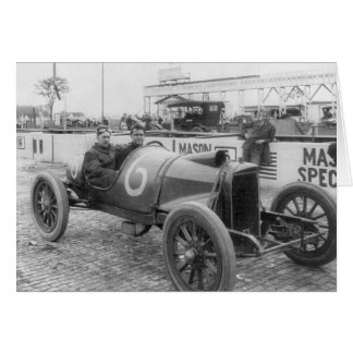 1913 Race Car Card
