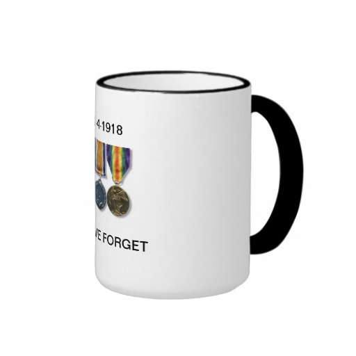 1914-1918 Lest We Forget Mug