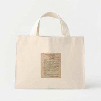 1914 NYC Breastfeeding Advocacy PSA Tote Bag