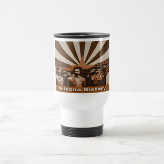 1914 Obregon, Villa, Pershing, Patton travel mug