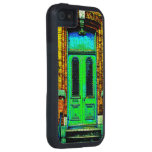 1914 rusty dirty old-wood-door iPhone 5 cover