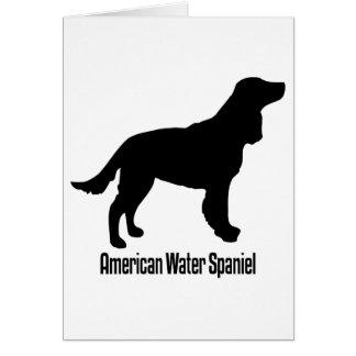1915112006 American Water Spaniel (Animales) Greeting Card