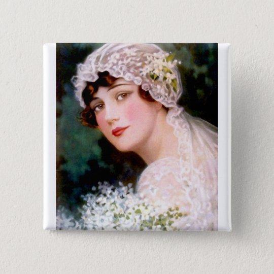 1915 Bride 15 Cm Square Badge