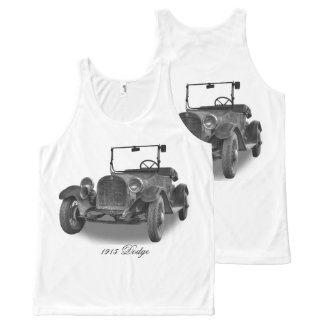 1915 DODGE All-Over PRINT TANK TOP