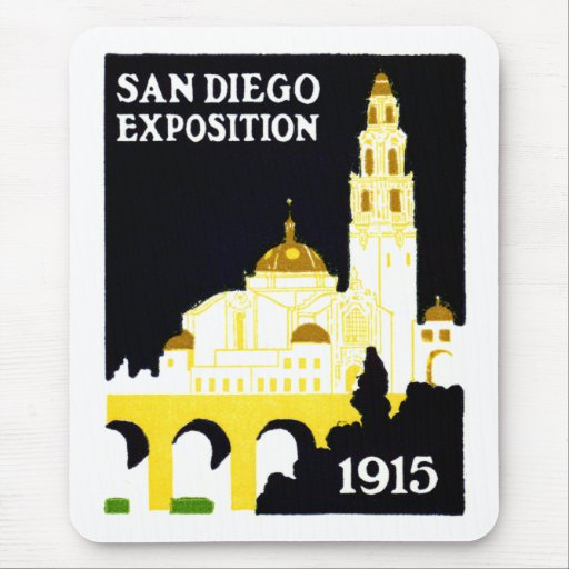 1915 San Diego Exposition Mouse Pad
